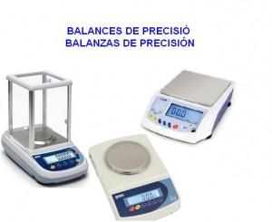 BALANCES DE PRECISIO